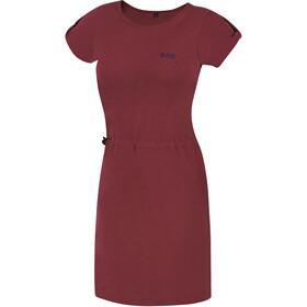 Directalpine Flow Vestido Mujer, rojo